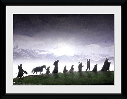 LTD, El Señor de los Anillos, Fellowship, Fotografía enmarcada, 40 x 30 cm