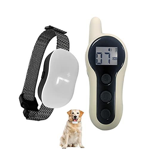 WSXY Diseño De Chips Entrenamiento De Perros Collar De Choque Recargable Impermeable para Perros Tapón De La Corteza De La Corteza En Y Al Aire Libre Anti del Ladrillo 500M