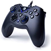 IFYOO V-one Wired USB Gaming Controller Gamepad Joystick for PC (Windows XP/7/8/10) & Steam & Android & PS3