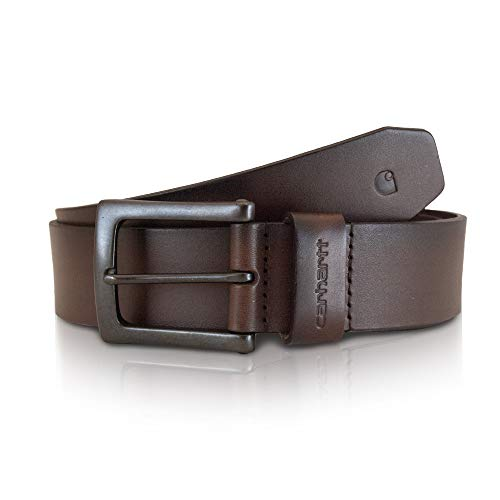 Carhartt Men's Signature Casual Belt, Anvil Brown, 38