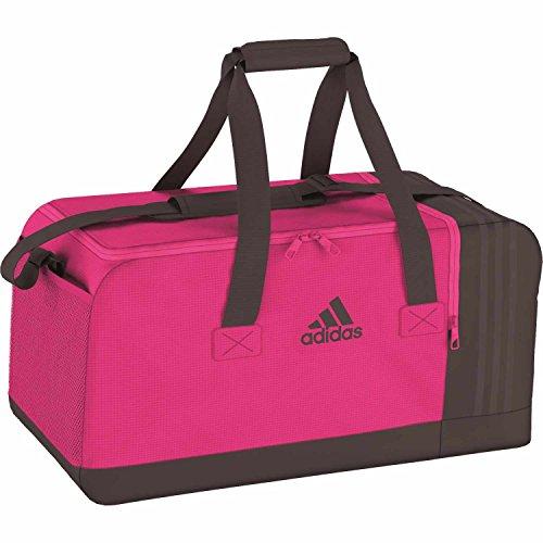 adidas Sporttasche 3 Stripes Performance Teambag , Rosa(neonpink),M (66 x 29 x 27 cm 52 Liter), AJ9996