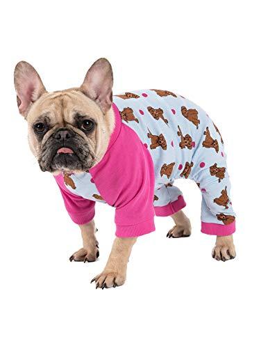 Leveret Matching Dog Pajamas Christmas Pjs 100% Cotton Puppy Size Large