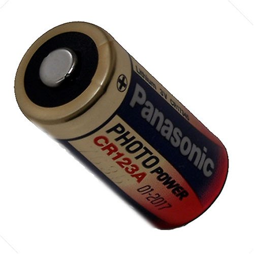 Foto-Lithium-Batterien Panasonic CR123A 1er Blister