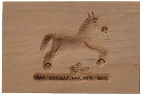 Städter 841253 Springerles- Model Backform, Holz, braun, 8 x 5,5 x 3 cm,