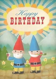 Birthday Gnomes Greeting Stephen Mackey