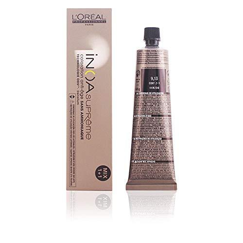 L'Oreal Inoa Supremecoloration Anti-Age Sans Amoniaque #9,13 60 Gr 1 Unidad 60 g
