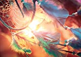PICSonPAPER Poster Traumfänger im Sonnenuntergang, 100 cm