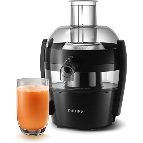 Philips Viva Collection HR1832/00 Entsafter á 1,5 Liter Tinte schwarz