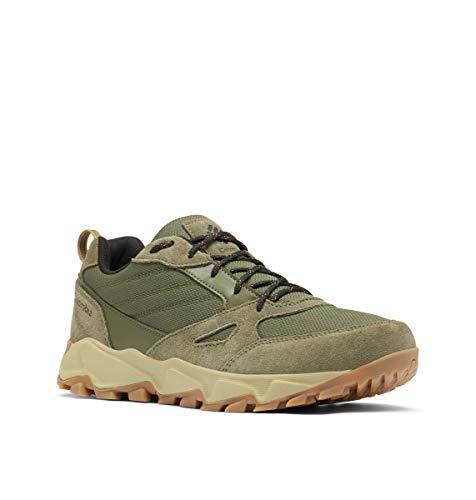 Columbia mens Ivo Trail Wp Sneaker, Nori/Black, 10 US