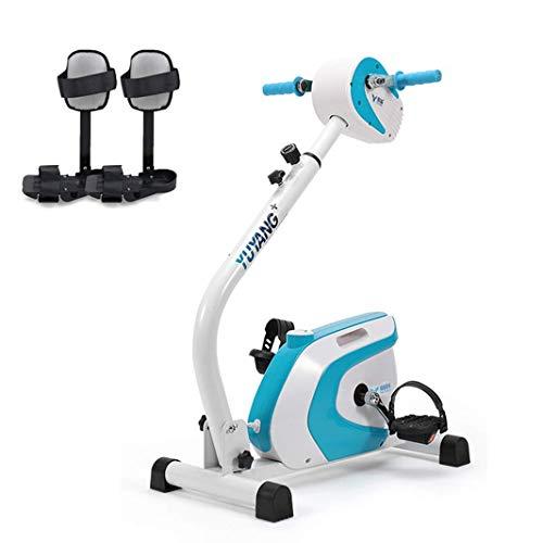 FGVDJ Electric Rehabilitation Machine, Motorized Leg and Arm Pedal Exerciser, Elderly Home Stroke Hemiplegia Rehabilitation Training Equipment