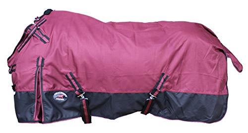 "CHALLENGER 72"" 1200D Turnout Rain Horse Sheet Light Winter Blanket Gusset 355"
