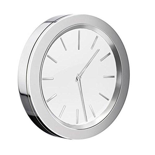 Smedbo Time Badezimmeruhr verchromt mit weißem Ziffernblatt Dm.: 60mm YX380