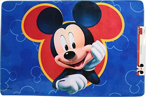 Tappeto Disney Cameretta Mickey - Minnie - Spiderman - Frozen Imbottito e non imbottito (80-120 cm, Mickey - Topolino)