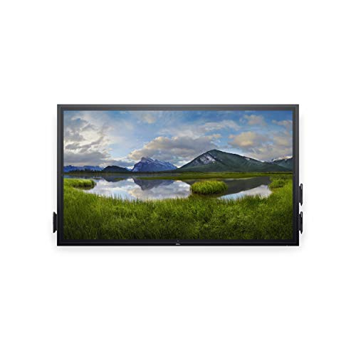 Dell C7520QT Public Display, zwart, UltraHD, IPS, touchscreen, HDMI