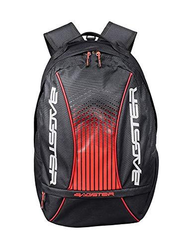 Bagster - Mochila para moto Player Evo negro y rojo