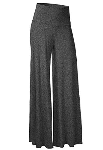 CROSS1946 Damen Lange Stretch Slinky Schlaghosen Hose