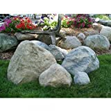 Airmax CrystalClear TrueRock Fake Fiberglass Rock, Large, Sandstone, 33 x 24 x 20