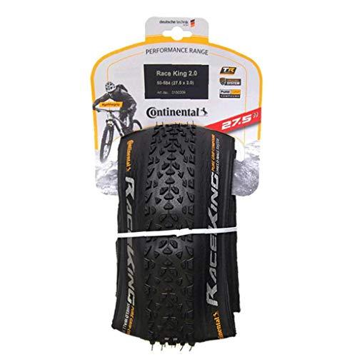 Fivesix Bicicletas Plegables de neumáticos de Repuesto Continental Camino de Bicicletas de montaña BTT neumáticos de protección (27x2cm) Piezas de Bicicletas