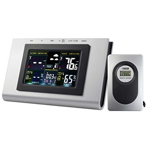 ESynic Estación Meteorológica Inalámbric Digital
