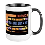 CafePress Tea, Earl Grey, Hot Mugs Coffee Mug, Large 15 oz. White Coffee Cup