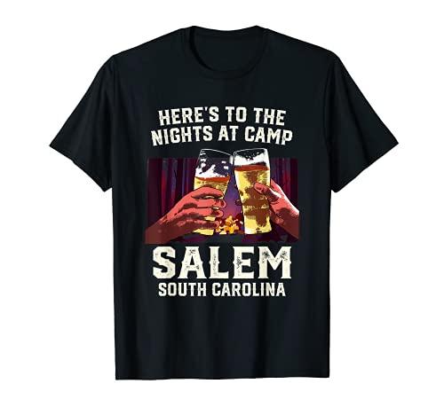 Ecco le notti al campeggio Salem Camping South Carolina Maglietta