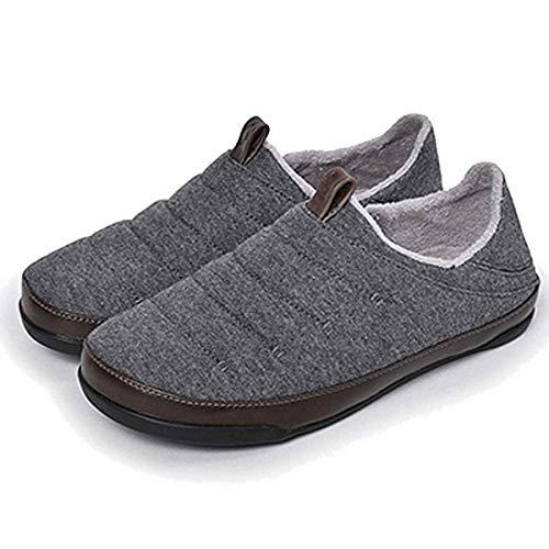 [オルカイ] スリッポン メンズ スニーカー おしゃれ かかと 踏める 靴 スニーカーサンダル ブランド グレーブラック 25.0cm