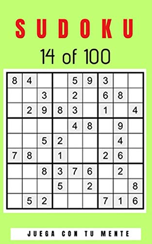 SUDOKU 14 of 100: Collection of 100 different SUDOKUS