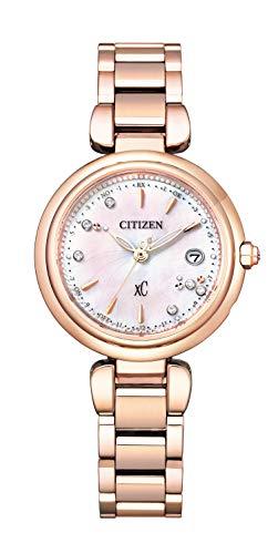 [CITIZEN] 腕時計 クロスシー mizu collection 限定モデル 世界限定2,100本 ES9467-54W レディース ピンクゴールド