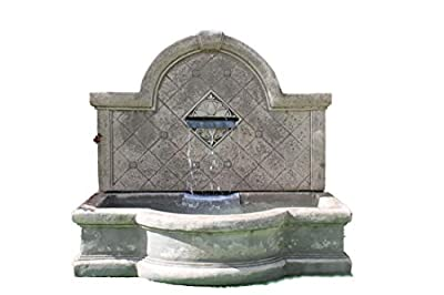 stone garden water fountain,Large wall fountain self contained outdoor ornate garden water feature