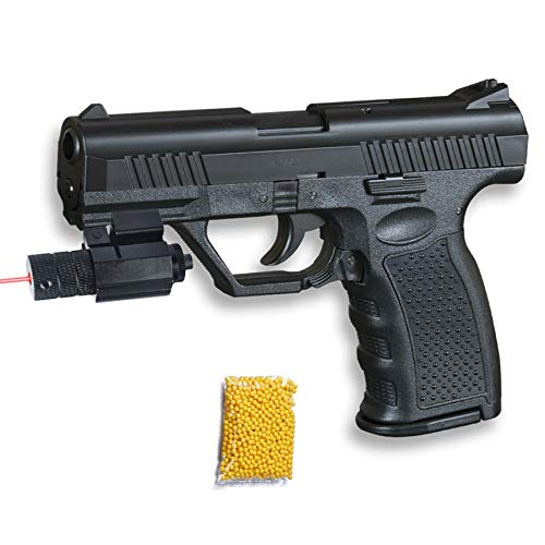 HFC HA-120 Láser - Pistola de Airsoft Calibre 6mm (Arma Aire Suave de Bolas de plástico o PVC). Sistema: Muelle. <3,5J
