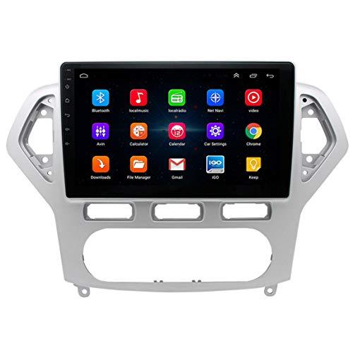 Sistema de navegación GPS SAT NAV, cámara de tráfico en vivo y velocidad preinstalada más recientes actualizaciones de mapas a través de WiFi, apto para Ford Mondeo Wins (2007-2011)
