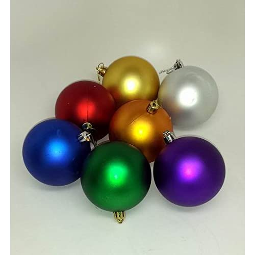 Amazon.com: Lot of 120 Pieces -Bulk Shatter-Proof Christmas Ornaments -  Minor Blemishes: Home & Kitchen - Amazon.com: Lot Of 120 Pieces -Bulk Shatter-Proof Christmas