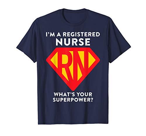 Super Nurse RN Superhero Registered Nurse Hero