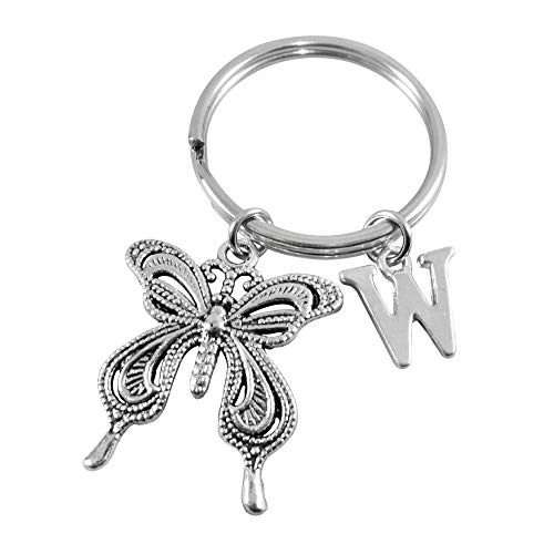 Butterfly Keyring Keychain Key Ring Personalised Gifts for Women
