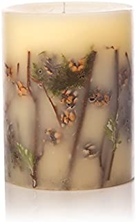 Rosy Rings Forest Tall Round Scented Candles, 5