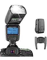 Neewer® Flash Speedlite met 2,4 G draadloos systeem & 15 kanalen zender voor DSLR Canon Nikon Sony Panasonic Olympus Fujifilm Pentax en andere DSLR-camera's met standaard hotshoe (NW570)