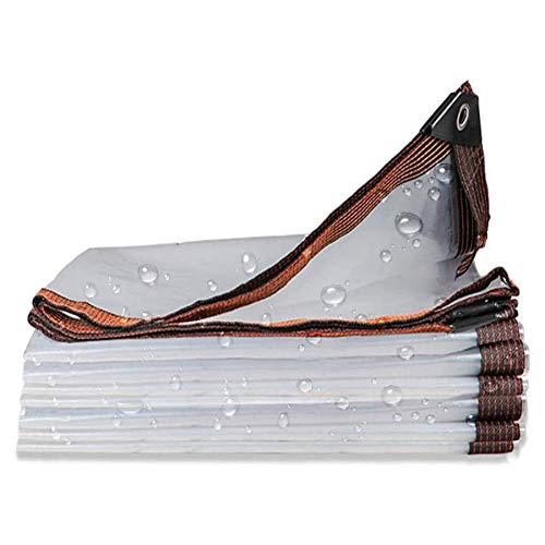 BWBG Lona Impermeable Transparente 10x16ft(3x5m), Lonas De PE Impermeable a Prueba De Lluvia Múltiples Funciones Carpa Exterior De Plástico para Invernadero Jardín Agricultura Acampa
