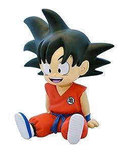 DragonPro Goku Sentado Mini Hucha 13,5 cm PVC Dragon Ball, Multicolor (PLY00080062)
