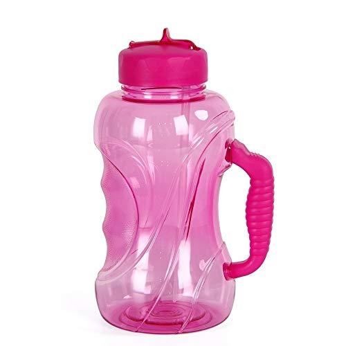 NANE Bouteille d'eau de 1,5 litres durables et Plus particulièrement Robuste BPA sans-adapté à: Gym, régime, Fitness, Sports de Plein air, la randonnée et Le Bureau,Rose