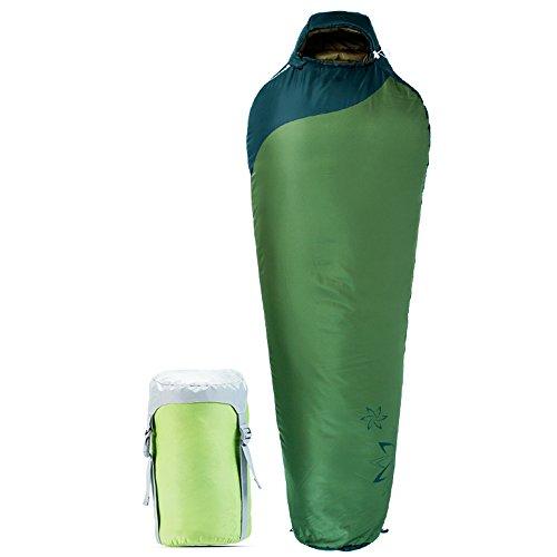 QFFL shuidai Sac de Couchage Momie/Splicable Imperméable à l'eau/Adultes en Plein air/Idéal 4 Saisons de Voyage Camping randonnée Sac de Couchage en Coton 215 * 80 (60) cm