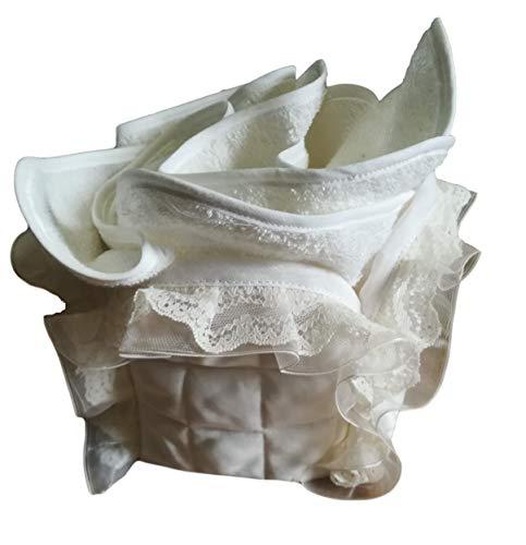 Broderies florentines Beauty Divers Forme, dentelle et tulle Cestino portalavette
