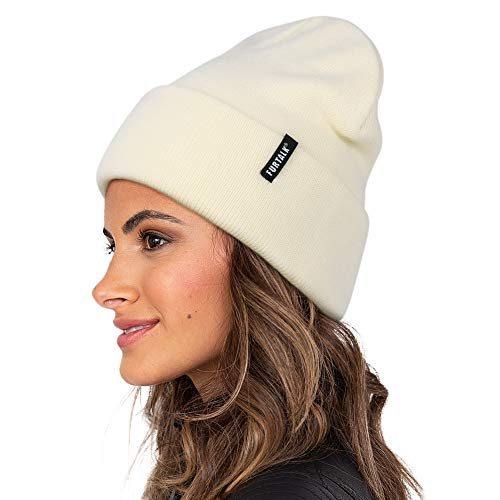 FURTALK Strickmütze Damen für Damen Beanie Mütze, Winterhüte für Frauen Männer Weich Warm Unisex Cuffed Beanie Hats