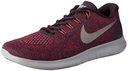 Nike Damen Free RN 2017 Laufschuhe, Pink (Bordeaux/MTLC Pewter/Port Wine 603), 36.5 EU