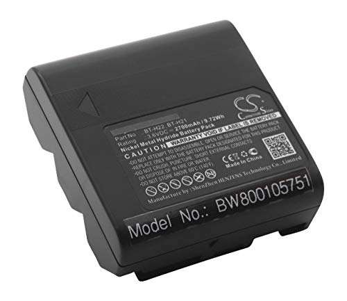 vhbw Akku 2700mAh (3.6V) für Kamera Camcorder Sharp wie BT-H21, BT-H21U, BT-H22, BT-H22U.