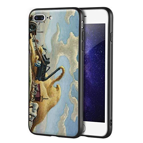 Thomas Hart Benton Custodia per iPhone 7 Plus&iPhone 8 Plus/Custodia per Cellulare Art/Stampa giclée UV sulla Cover del Telefono(Rice Trilla)