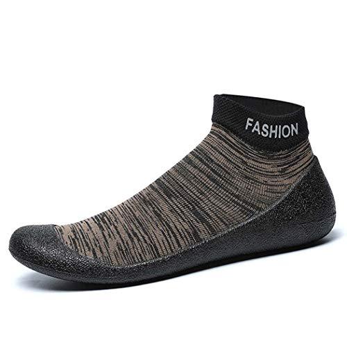 GGPUS outdoor herensokken, dames upstream schoenen, indoor fitness-schoenen, strandschoenen, bruin, 43/44