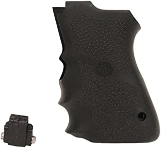 Hogue 69000 Rubber Grip for S&W, Compact 9mm Double Stack Mag