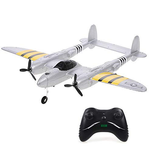 GoolRC FX-816 P38 Airplane 2.4GHz 2CH RC Plane Aircraft Outdoor Flight Toys for Kids Boys