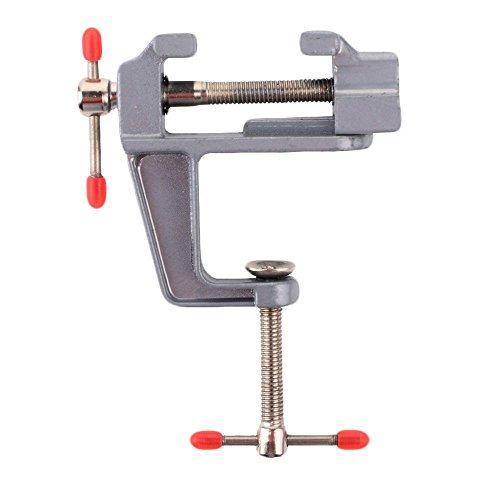 Leayao DIY Mini en alliage d'aluminium Craft Table Banc Clair Pince variés Outil Etau 30 mm