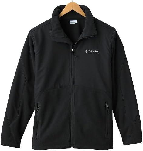 Columbia Men Nordic Trekker II Fleece Jacket Black